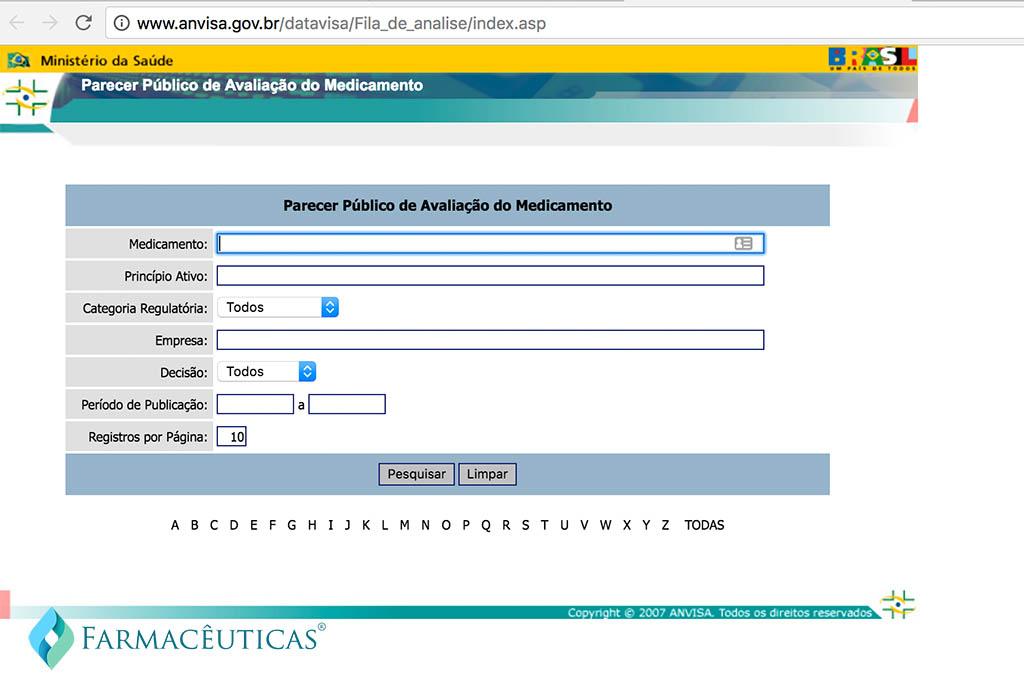Anvisa Consulta Registro Novos Medicamentos
